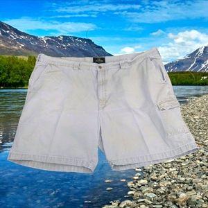 REDHEAD Tan Expedition Casual Cargo Shorts